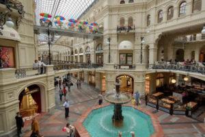shopping  moskau von gum zu izmailovo markt