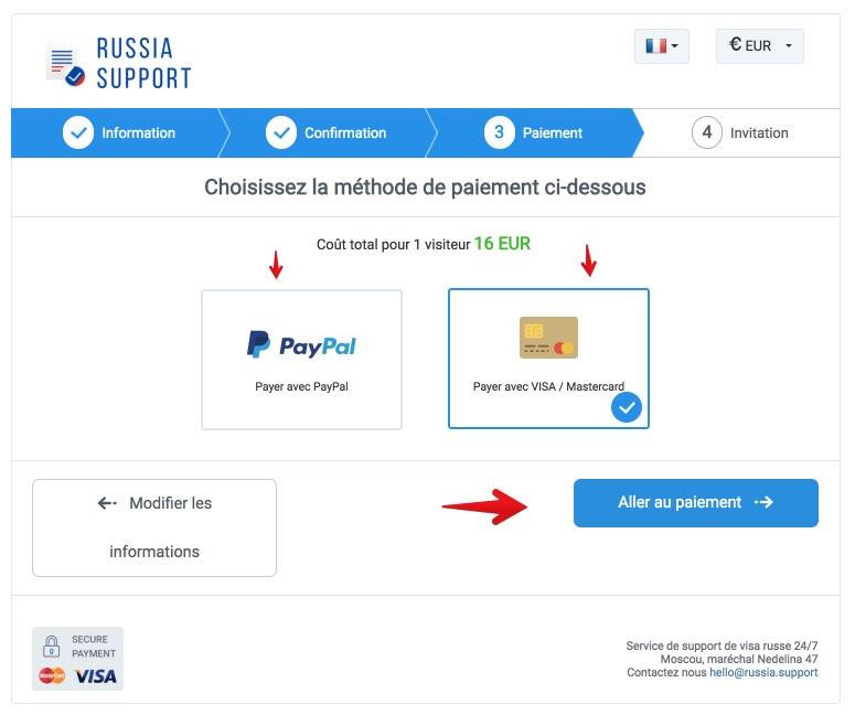 Einladung nach Russland - Russland Support - Russia Support 4