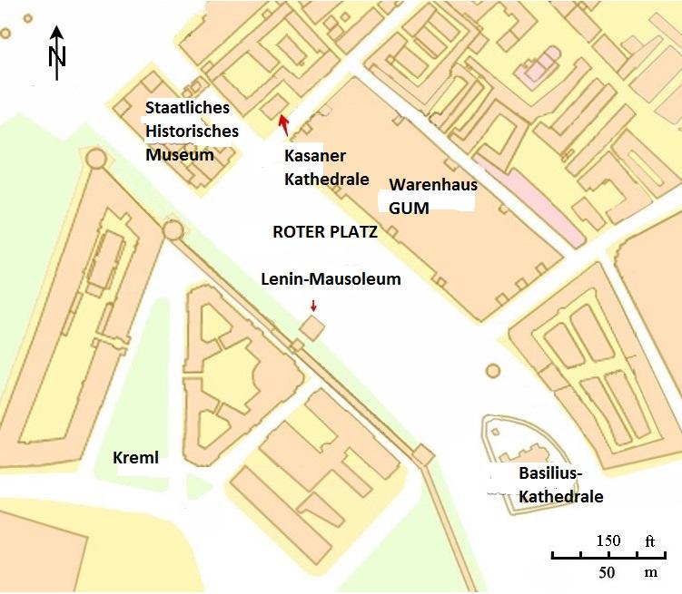 Kreml Karte Moskau