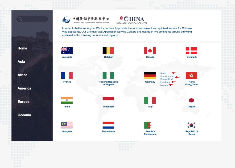 Füllen Sie das chinesische Visumantragsformular 1 aus