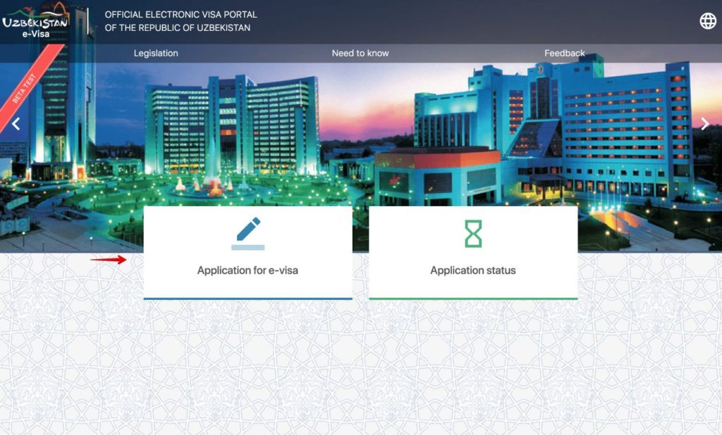 Beantragst du ein elektronisches Visum fur Usbekistan - eVisa