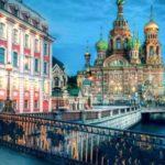 Die Auferstehungskirche in St Petersburg