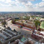 Die Sehenswurdigkeiten auf dem Roten Platz in Moskau