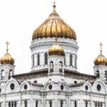 Die Christ-Erloeser-Kathedrale in Moskau