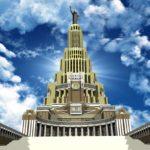 Stalin Wolkenkratzer in Moskau