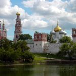 Das Nowodewitschi-Kloster und der Friedhof
