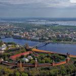 Weliki Nowgorod - Gesamtansicht der Stadt