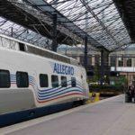 Allegro-Train - Wie komme ich von Helsinki nach St. Petersburg
