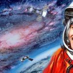 Moskau im Weltraum
