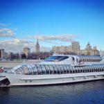 Bootsfahrt durch Moskau